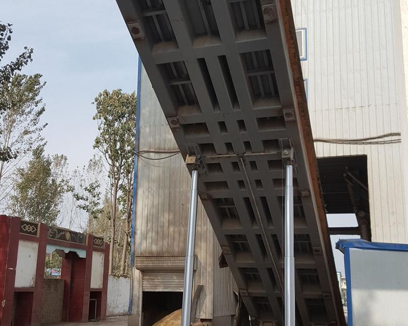 翻板卸车平台